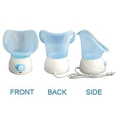 Multi Functional Beauty Mask SPA Sauna Hydration System Facial Steamer Personal Skin Care Hot Mist Sprayer Home Humidifier Nose Steamer Aromatherapy Diffuser Machine 3 in 1 Blue ** Visit the image link more details. Facial Steamer, Aromatherapy Diffuser, Skin Care Tools, Humidifier, Healthy Living, Image Link, Spa, Blue, Beauty