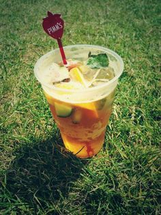 Summertime and Pimm's!