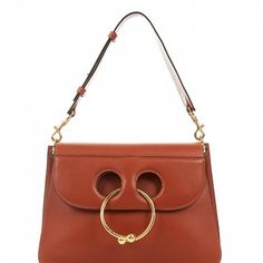 Pierce Medium Leather Shoulder Bag from J.W.Anderson.