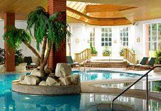 No importa la temperatura afuera, en nuestra piscina cubierta siempre estas en el paraiso. Spowston Manor Marriott Hotel & Country Club en Inglaterra. #England #UK