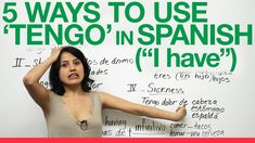"5 Ways to use ""tengo"" in Spanish - Butterfly Spanish Video"