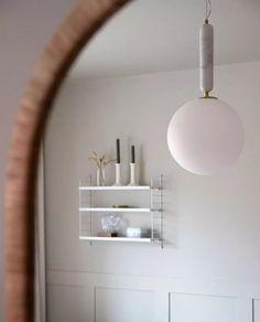 GL550508-Globen-Lighting-Torrano-Pendel-30-Hvit_m Furniture, Design, Home Decor, Globe, Marble, Decoration Home, Room Decor, Home Furnishings