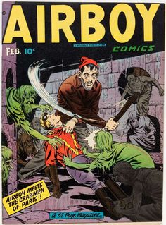 Comic Book Cover For Airboy Comics v6 1 [60]