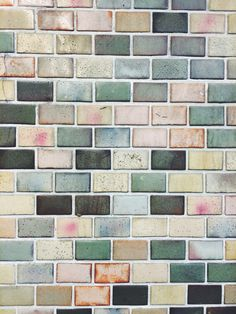 Subway tiles in Tokyo, Japan. - Home Decor Ideas Textures Patterns, Color Patterns, Color Schemes, Wall Tiles, Subway Tiles, Use E Abuse, Tile Design, Color Inspiration, Interior And Exterior