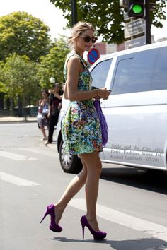 One of thw beautifull pics from Style and the city. Olivia Palermo