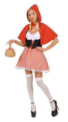 Déguisement chaperon rouge à carreaux femme