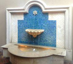 Random Cut Fountain Mosaic | New Ravenna