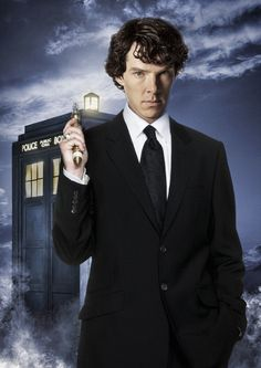 WORDS CANNOT DESCRIBE! Benedict Cumberbatch may be the new Master for the 50th anniversary of Doctor Who. {I really hope so}