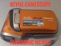 passion voiture hybride: Test caméscope Panasonic HX WA2 etanche et stabili...
