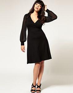 pretty plus size dress