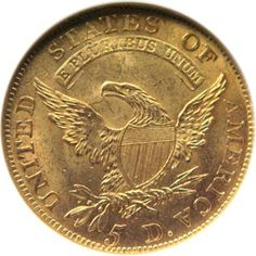 1811 five dollar gold