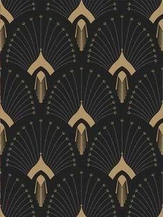 New Art Deco Print Pattern Textile Design Ideas Arte Art Deco, Motif Art Deco, Estilo Art Deco, Art Deco Design, Art Deco Wall Art, Art Deco Fabric, Art Nouveau Pattern, Art Deco Paintings, Art Deco Decor