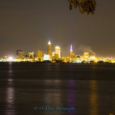 #Cleveland skyline from Lakewood Park