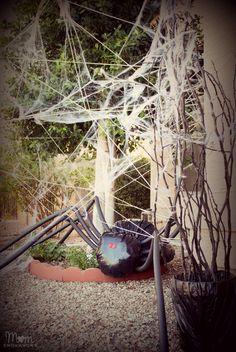 DIY Halloween Front Yard Decor
