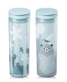 Korea Starbucks 2016 Autumn Promotion Woodland case tumbler 473ml 2cases 1bottle…