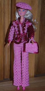 Häkeln Kleidung für Barbie