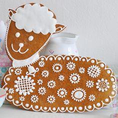 #gingerbread #beranek #pernik #pernicek #pernikovy #spring #jaro #velikonoce #easter #decorate #icing #poleva #homemade #bake #peceni #zdobeni #casopisdekor #topping #glaze #lamb