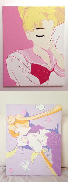Sleeping Sailor Moon Series / Nineties Nostalgia