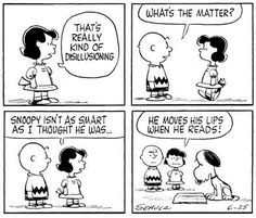 Snoopy the reader