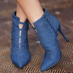 Pointy-Toe 'Henley' Booties