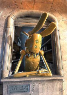 Robot salé