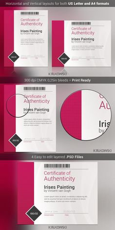 Certificate Template  Certificate Templates Stationery Templates