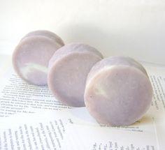 Blackberry Cream Shampoo, Handmade Solid Shampoo Bar