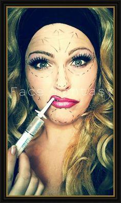 Face Fantasy plastic surgery makeup