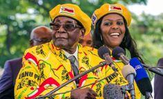 Mugabe 'Arrested' With Wife Taken Into Custody