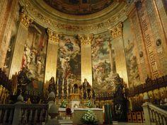 The Basilica of San Francisco in the city of La Paz, Bolivia