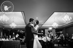 The first dance. Photo by: Sposto Photography #ocbride #ocwedding #centercluboc