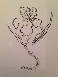 ... about Tattoo on Pinterest | Iris tattoo Irises and Iris flowers