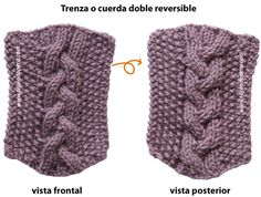 trenza doble reversible - reversible cables