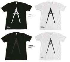 Black Spectacles.  #tshirt #design #architecture #logo #branding #chicago