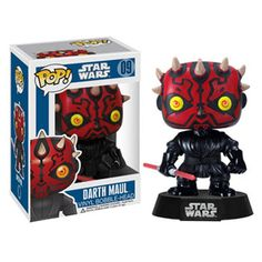 Funko POP! Star Wars Vinyl Bobble-Head - DARTH MAUL (4 inch)