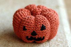 ハロウィーンのかぼちゃ_かぎ針編み