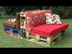 Dicas para fazer um sofá de palete de madeira