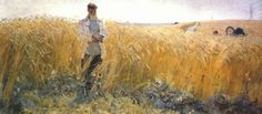 Grain (1948) Alexander Pavlovich Bubnov (Алекса́ндр Па́влович Бу́бнов (Unión Soviética. Rusia, 1908-1964)