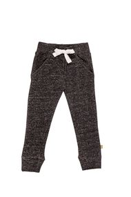 nui organic cotton fleece kea pants granite
