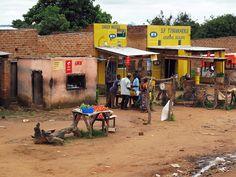Rural Marketplace in Zambia
