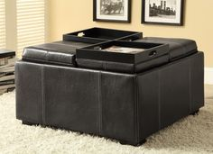 multi purpose storage ottoman. offers extra #seating as well as #storage #WELOVEIT #mhf