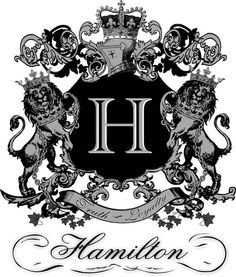 Hamilton Crest Hamilton, Family Crest Tattoo, Family Shield, Kids Carnival, The Kat, Mother Family, Scottish Clans, Crests, Coat Of Arms