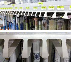 Undershelf Shower Rod Rack – Fixtures Close Up Rod Rack, Shower Rod, Shelf, Retail, Organization, Color, Getting Organized, Colour, Shelves