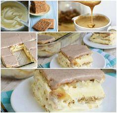 Iti ia 15 minute sa-l faci si nu necesita Vanilla Cake, Tiramisu, Graham, Biscuit, Cheesecake, Ethnic Recipes, Desserts, Foods, Cakes