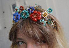 "1,040 Likes, 5 Comments - Lirika Matoshi (@lirika.matoshi) on Instagram: ""•find my headpiece on my etsy shop (link in bio) <3 #madeinnyc"""
