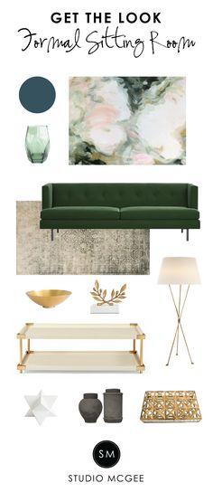 Get the Look: Formal Sitting Room - Studio McGee