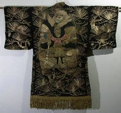Japanese embroidery - stage costume