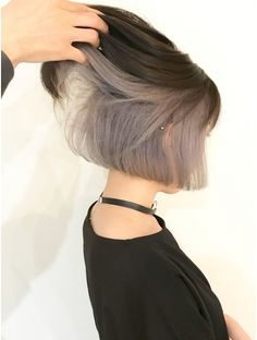 11 top short silver grey hair color ideas 2019 on haircuts color grey hair color grey hair haircuts ideas short silver top 33 most popular step by step hairstyle tutorials Two Color Hair, Ombre Hair Color, Hair Colors, Hair Streaks, Hair Highlights, Short Hair Cuts, Short Hair Styles, Grey Hair Styles, Short Grunge Hair
