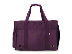 Free Shipping Purple  Nylon Double-stranded Pet Dogs Carrier Bag Fashion Small Puppy Dogs Bag