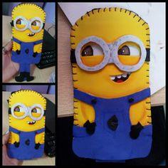 Minions phone case foam eva
